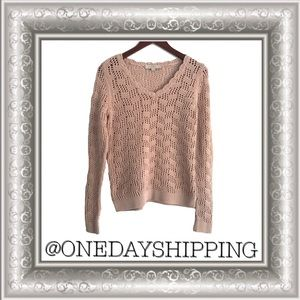 Ann Taylor Loft Cotton Knit Sweater